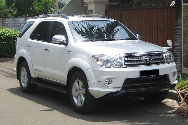 Toyota Fortuner Car Model Review
