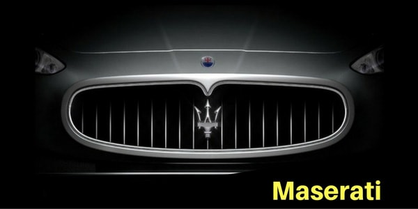 Maserati Grille