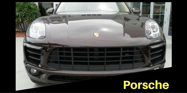 Porsche Grille