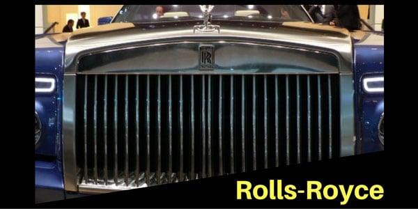 Rolls Royce Grille