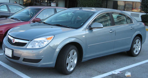 Saturn Aura XE car model