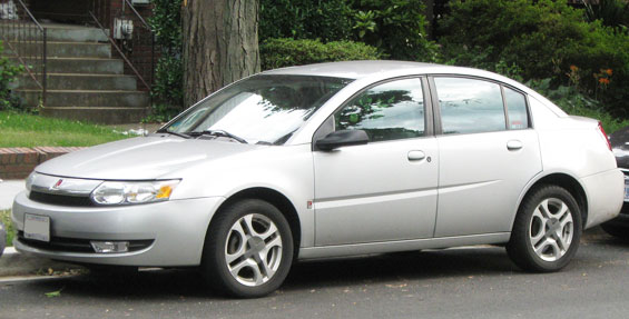 Saturn Ion Car Model