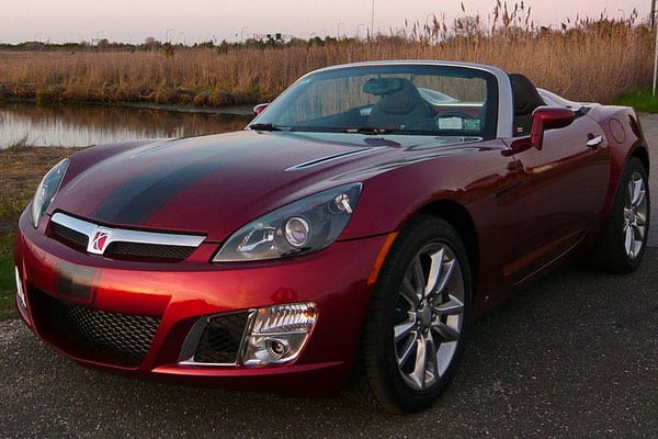 Saturn Sky Redline Ruby Red Limited Edition Car Model