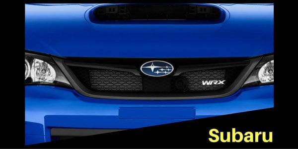 Subaru Grille