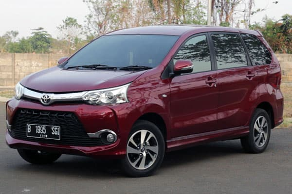 Toyota Avanza Car Model