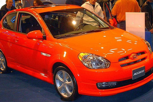 Hyundai Accent SR Hatchback Model