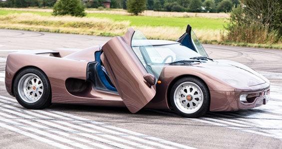 Koenigsegg CC Car Model