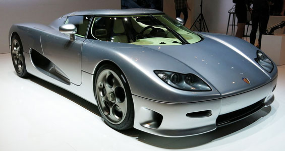 Koenigsegg CC8S Car Model