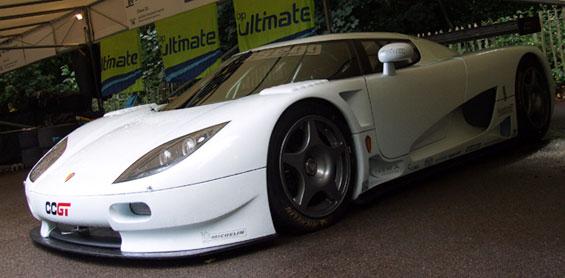 Koenigsegg CCGT Car Model