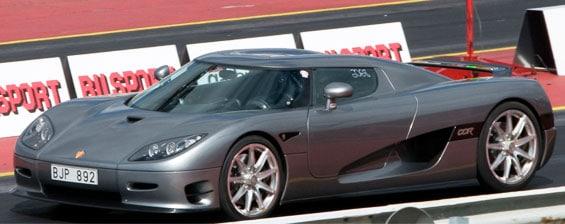 Koenigsegg CCR Car Model