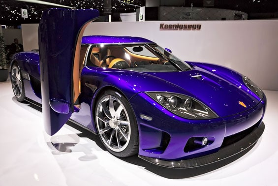 Koenigsegg CCX Car Model