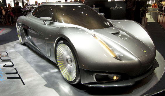 Koenigsegg Quant Car Model
