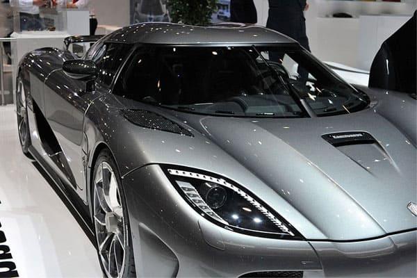 Koenigsegg car model
