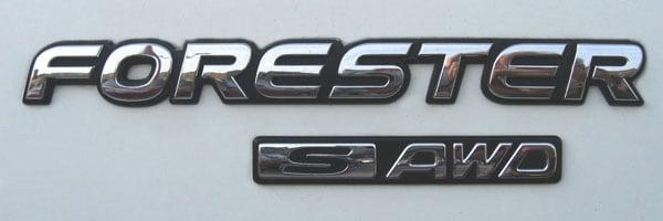 subaru Forester logo