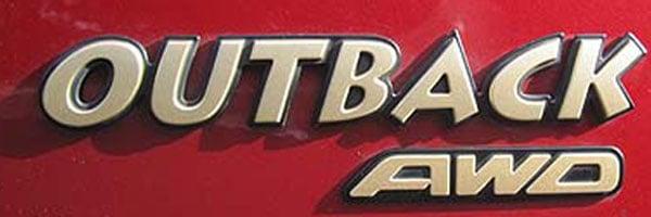 subaru outback logo
