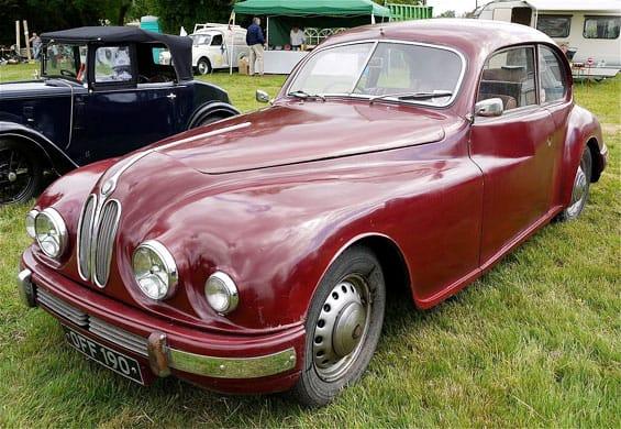 Bristol 401 Car Model