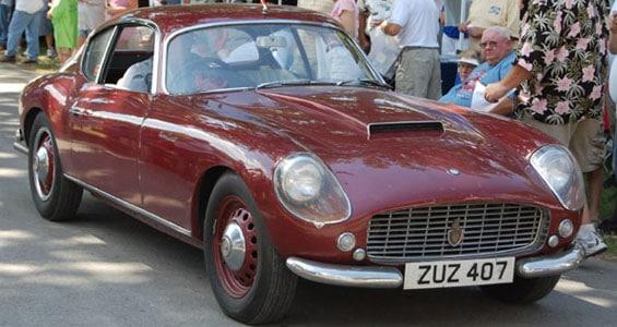 Bristol 407 Zagato car model