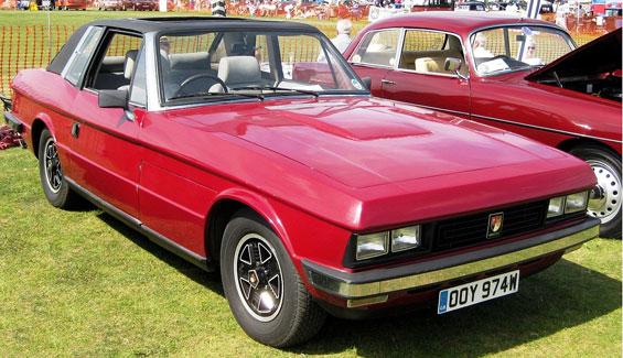 Bristol 412 Car Model