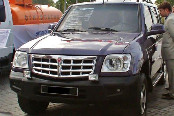 GAZ 31061 Ataman-2 SUV Concept Car Model