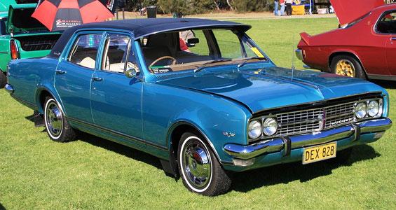 Holden Brougham Car Model
