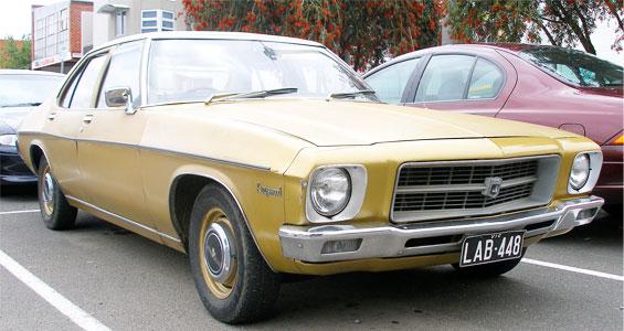 Holden Kingswood Car Model