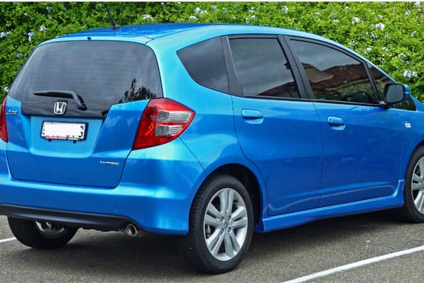 Honda Fit Hatchback Rear View