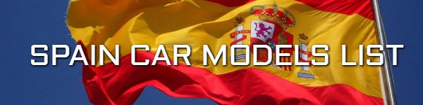 spain car models list