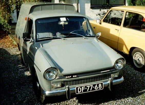 DAF 33 Break Car Model