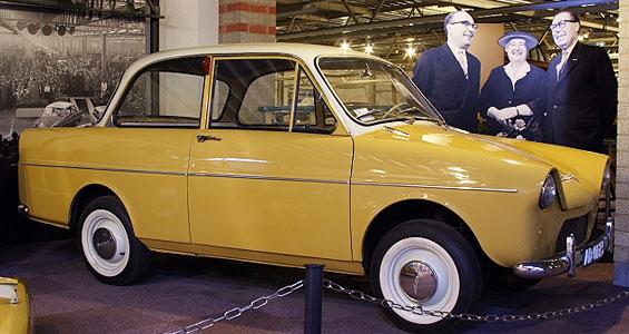 Daf 600 Car Model