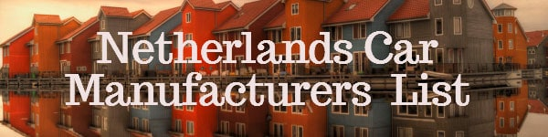 Netherlands Car manufacrturers List