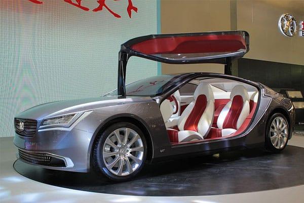 BAIC Concept 900 car model
