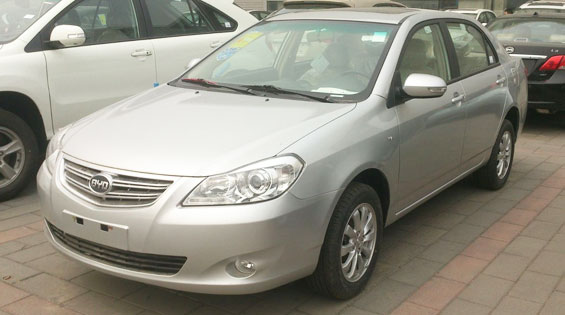 BYD G3 Car Model