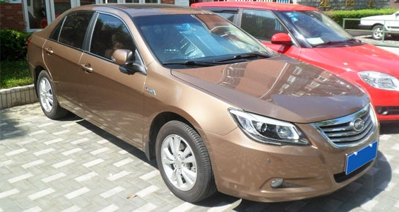 BYD G6 Car Model