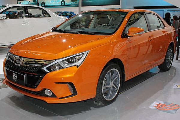 BYD Qin car model