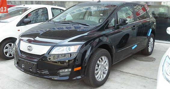 BYD e6 Car Model