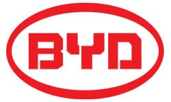 BYD official logo of the company