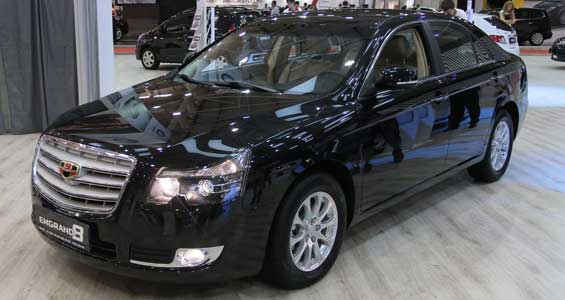 Geely Emgrand EC8 car model