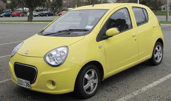 Geely LC car model