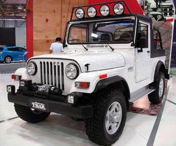 Mahindra Thar car model