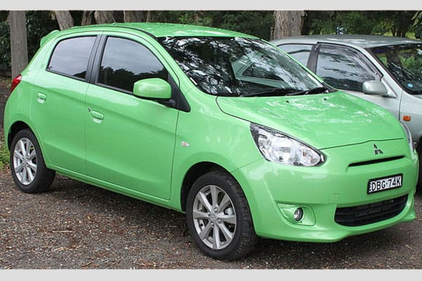 Mitsubishi Mirage Hatchback car model