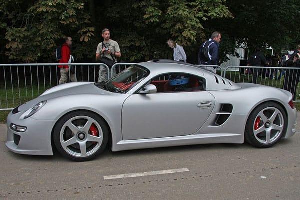 RUF CTR3 car model