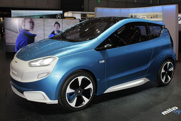 Magna Steyr Mila Blue car model
