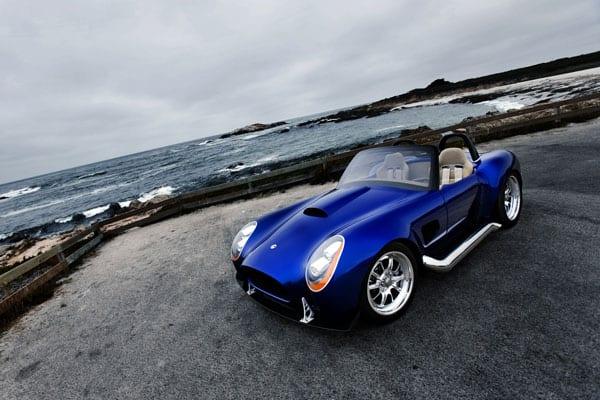 Iconic AC Roadster car model
