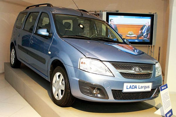 Lada Largus car model