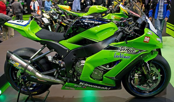 Kawasaki Ninja ZX-10R Superbike model
