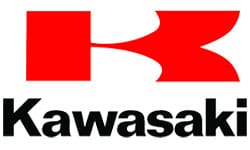 Kawasaki official logo of the company