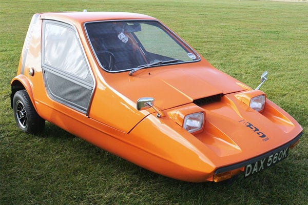 Reliant Bond Bug car model