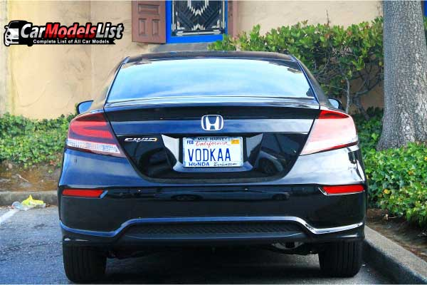 Honda Civic Rear view