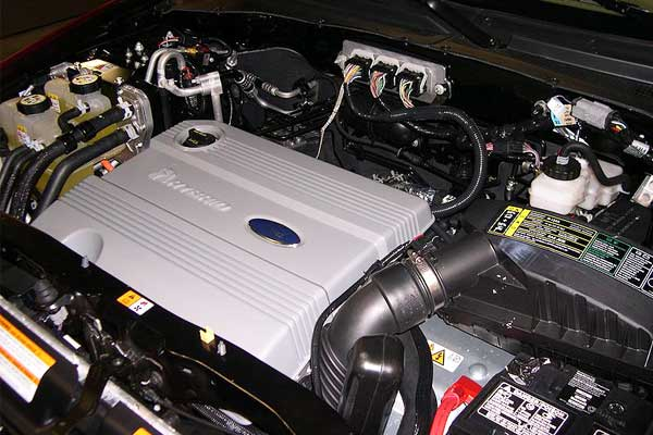 ford escape engine compartment