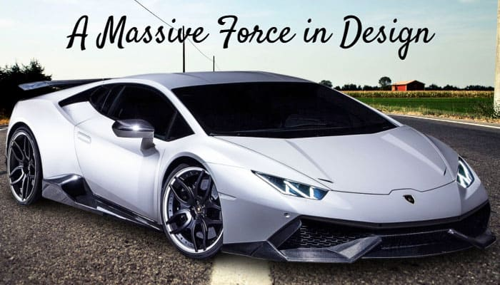 A Massive Force in Design lambo huracan